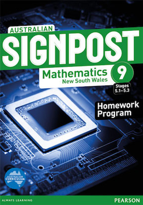Australian Signpost Mathematics NSW 9 (5.1-5.3): Homework Program