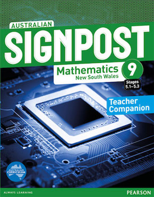 Australian Signpost Mathematics NSW 9 (5.1-5.3): Teacher Companion