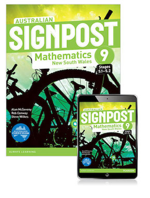 Australian Signpost Mathematics NSW 9 (5.1-5.2): Student Book with ebook