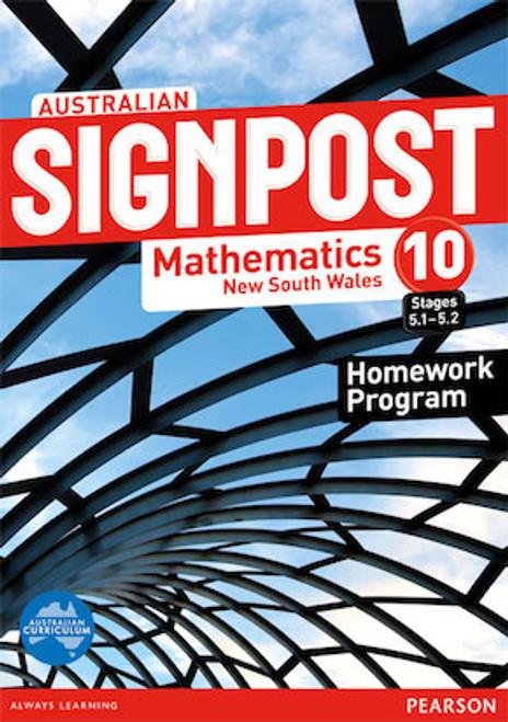 Australian Signpost Mathematics New South Wales 10 Homework Program