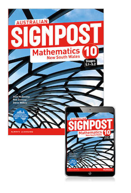 Australian Signpost Mathematics NSW 10 (5.1-5.2): Student Book with Reader+
