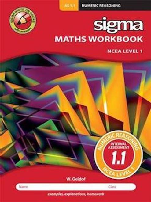 Sigma Workbook: AS 1.1 Numeric Reasoning