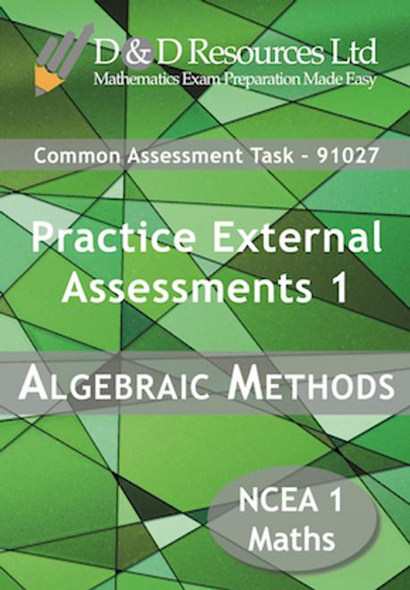 91027 Algebraic Methods: Practice Assessments