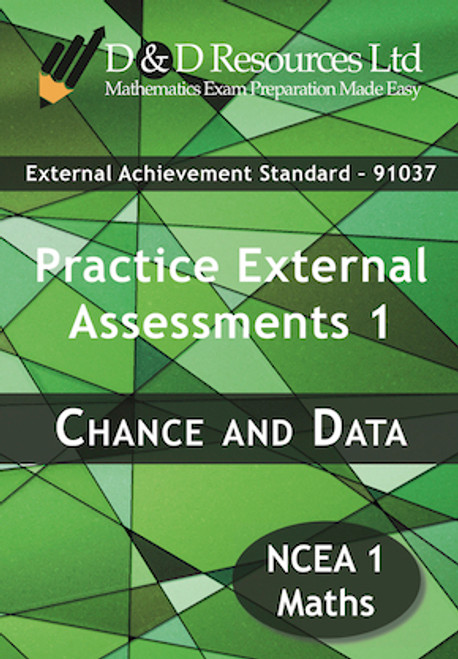 91037 Chance and Data: Practice Assessments