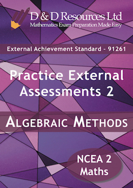 91261 Algebraic Methods: Practice Assessments