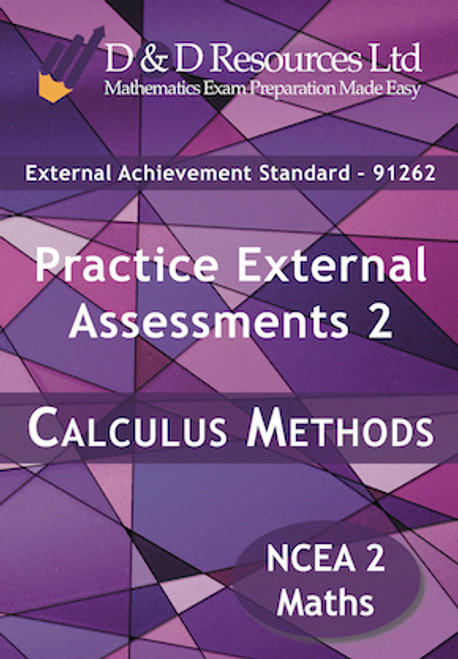 91262 Calculus Methods: Practice Assessments