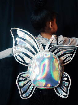 Butterfly Holographic Backpack
