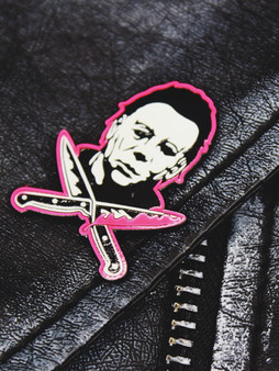 Rock Rebel | Michael Myers Glow-In-The-Dark Enamel Pin