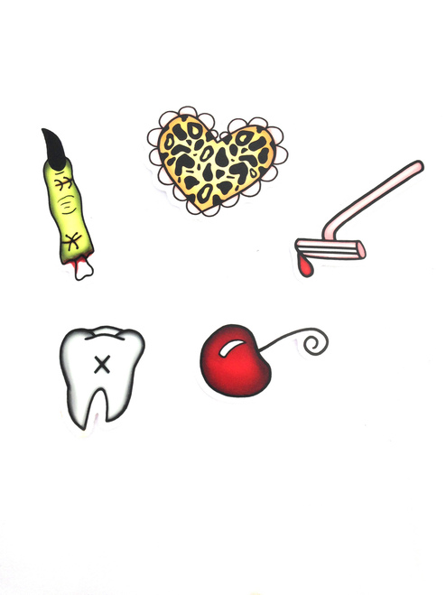 Cute And Creepy Sticker Pack
