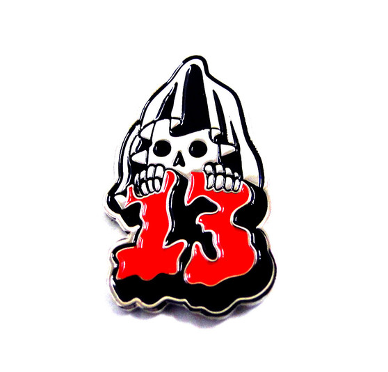 Sourpuss | Friday the 13th Pin