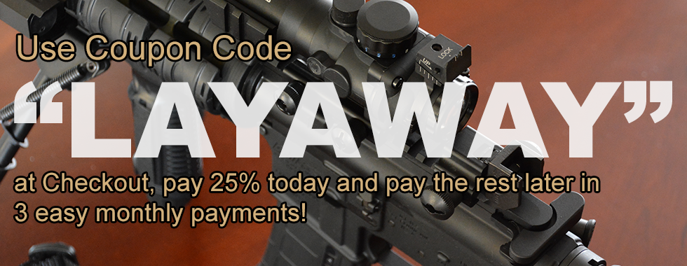 LAYAWAY available!