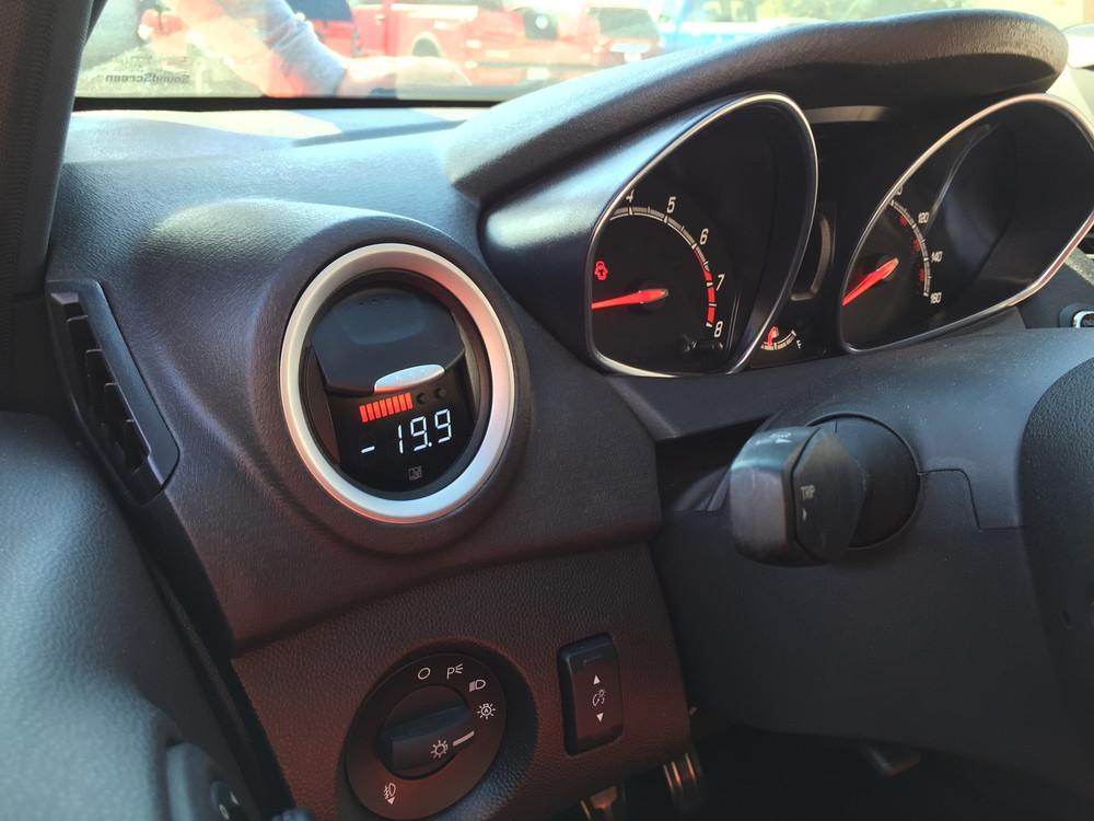 Fiesta MK7 P3 Gauge dash photo