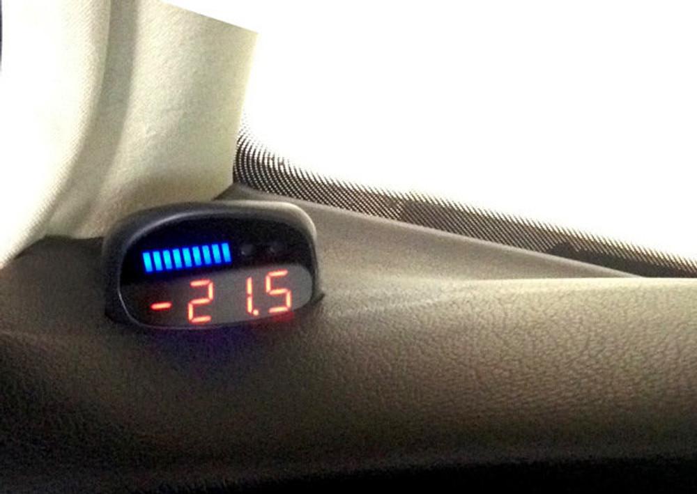 VW New Beetle - P3 Boost gauge