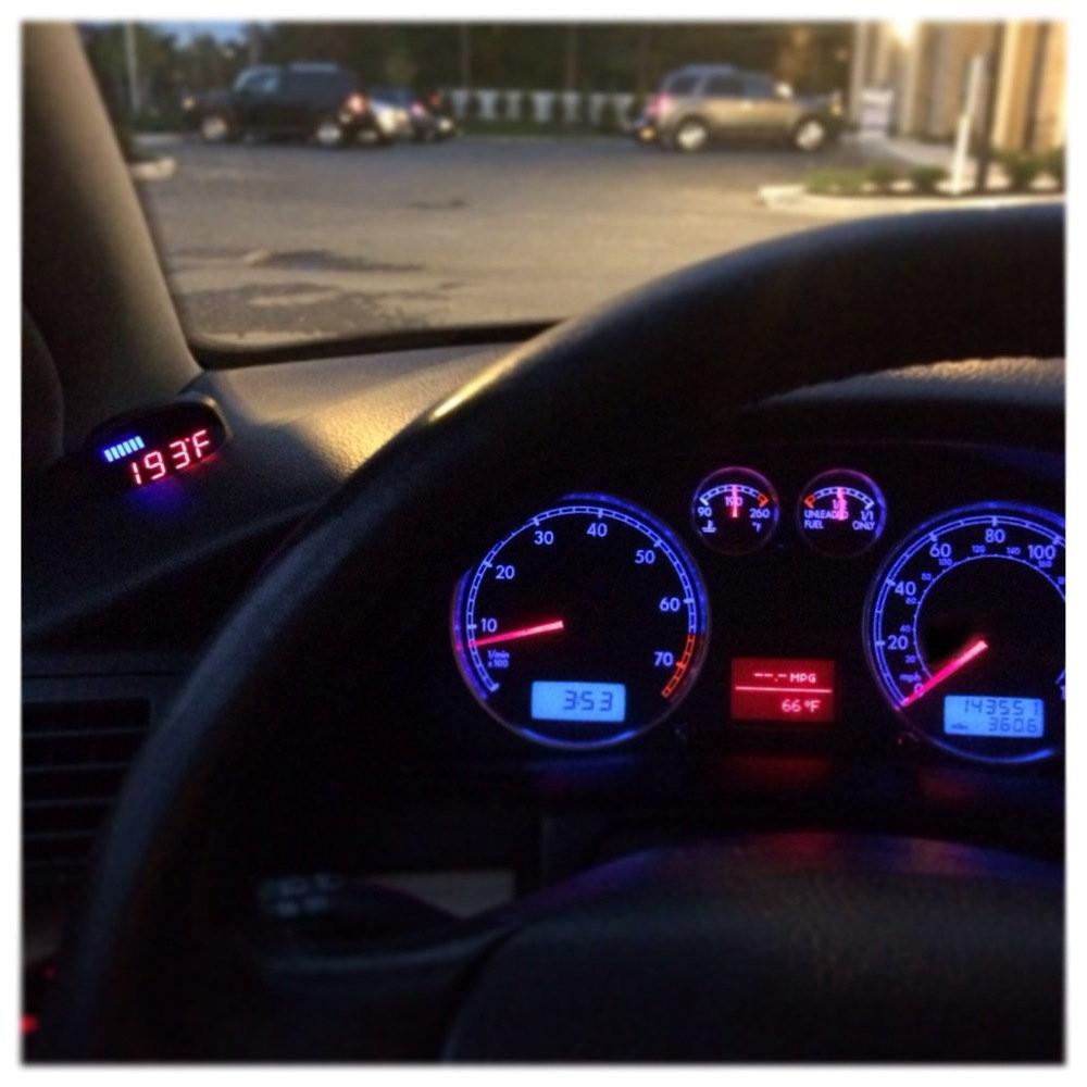 VW Passat B5 - P3 Boost gauge
