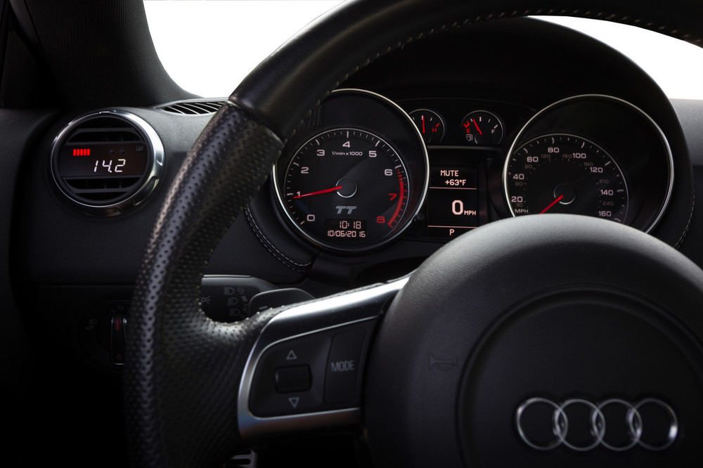 Audi 8P / Mk2 TT - P3 Boost gauge