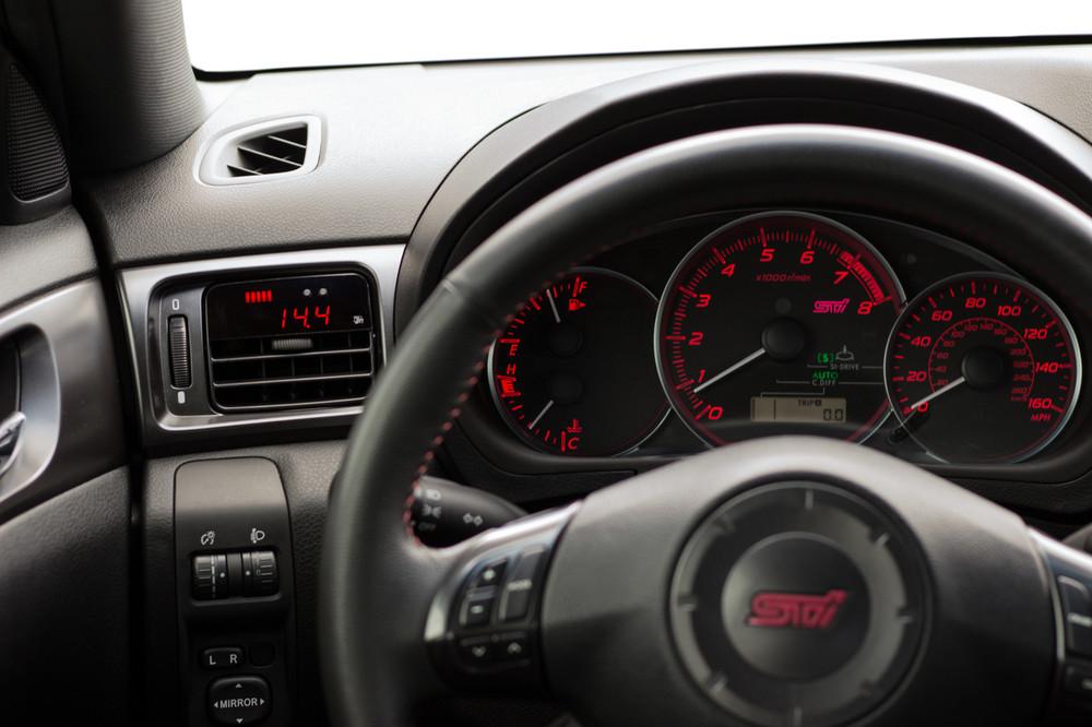 WRX / STI ('08-'14) - P3 Boost gauge