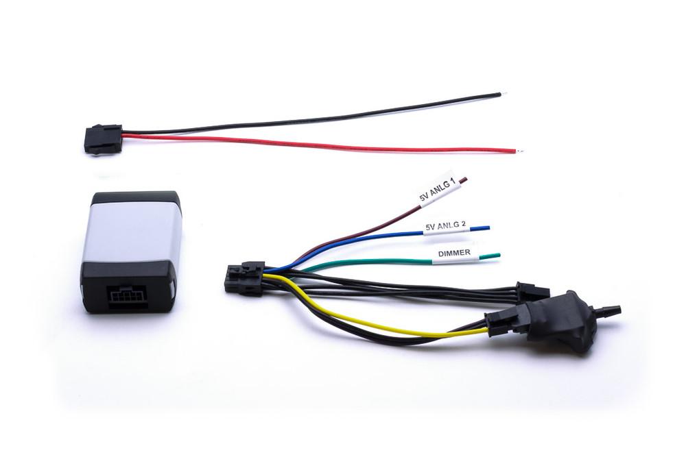 Power/Ground harness, Aux Box, Main Harness, Analog Boost sensor