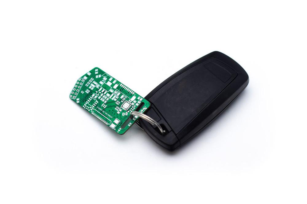 P3 Circuit Board Keychain