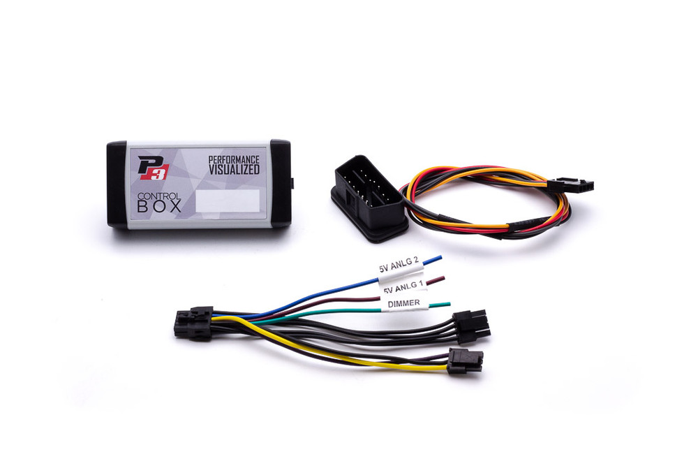 BMW E70 / E71 - P3 OBD2 Multi-Gauge