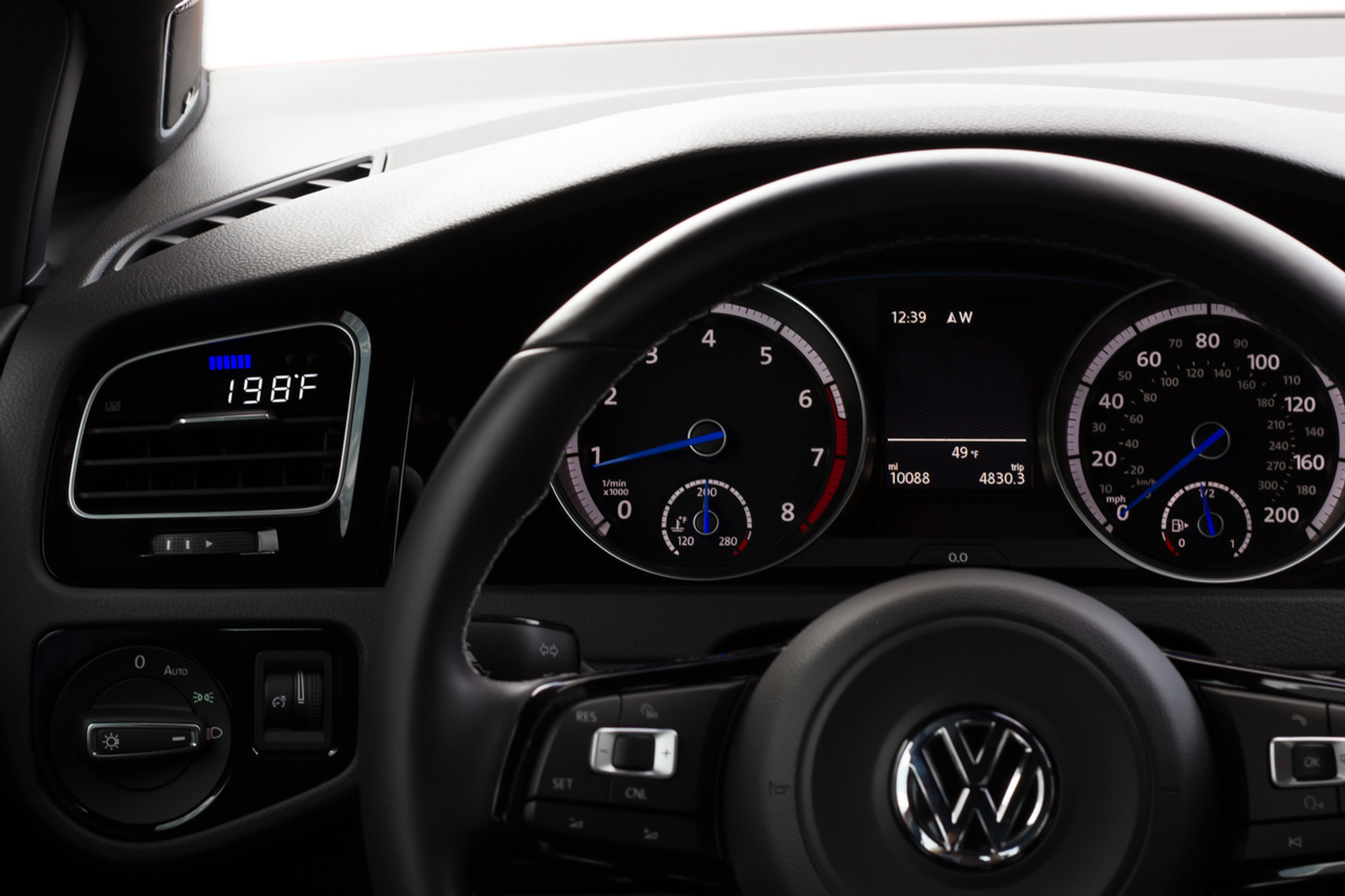 VW Mk7 - P3 OBD2 Multi-Gauge