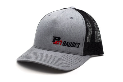 P3 Hat Grey and Black Snapback Small Side Logo