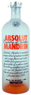 ABSOLUT MANDRIN VODKA 50ML
