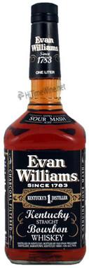 EVAN WILLIAMS BLACK LABEL BOURBON 1.75L