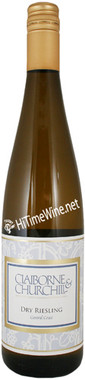 """CLAIBORNE & CHURCHILL 2019 RIESLING """"DRY"""" CENTRAL COAST 750mL"""