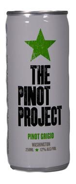 THE PINOT PROJECT PINOT GRIGIO WASHINGTON STATE 250mL