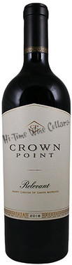 """CROWN POINT 2018 PROPRIETARY RED """"RELEVANT"""" HAPPY CANYON 750mL"""