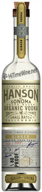 HANSON ORGANIC GINGER VODKA 750ML