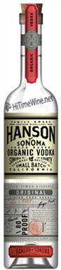 HANSON ORGANIC VODKA 750ML