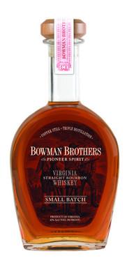 BOWMAN BROTHERS SMALL BATCH VIRGINIA STRAIGHT BOURBON WHISKEY 750ML