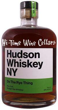 HUDSON WHISKEY DO THE RYE THING 750 92PF