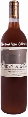 """DONKEY AND GOAT 2020 ROSE OF GRENACHE """"ISABEL'S"""" McDOWELL VALLEY 750mL"""