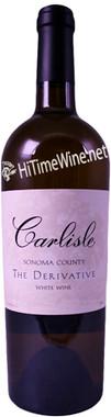 """CARLISLE 2015 PROPRIETARY WHITE """"THE DERIVATIVE"""" SONOMA COUNTY 750mL"""