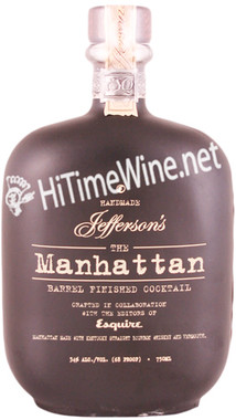 JEFFERSONS THE MANHATTAN 750 68PF BARREL FINISHED COCKTAIL