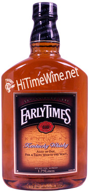 EARLY TIMES KENTUCKY WHISKY 1.75L