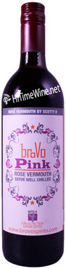BROVO PINK ROSE VERMOUTH BY SCOTTY D 750 BATCH-4