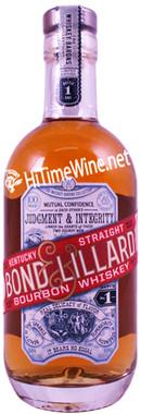 BOND & LILLARD KENTUCKY STRAIGHT BOURBON WHISKEY 375 100PF BATCH#1