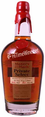 MAKER'S MARK PRIVATE SELECT 109.6PF UNITY BLEND EXCLUSIVE OAK STAVE SELECTION HI TIME CELLARS 750