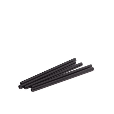 BUSWELL REUSABLE BLACK STRAW 5IN 10PK