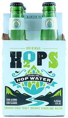 H2OPS ORIGINAL HOP WATER CASE 24PK 12OZ