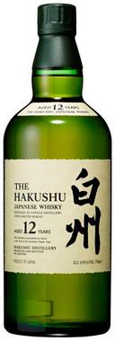 SUNTORY THE HAKUSHU 12YR JAPANESE WHISKY