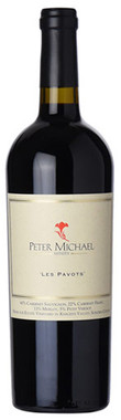 """PETER MICHAEL 2018 PROPRIETARY RED """"LES PAVOTS"""" KNIGHTS VALLEY 750mL"""