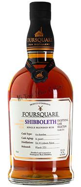FOURSQUARE SHIBBOLETH 16YR RUM EX-BOURBON CASK 112PF BOTTLED-MARCH 2021