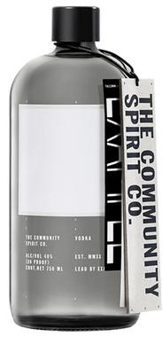 THE COMMUNITY SPIRIT VODKA 750