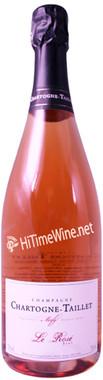 CHARTOGNE-TAILLET BRUT LE ROSE 2016 Base Vintage, disgorged 10/20 with 7.8 g/l dosage.