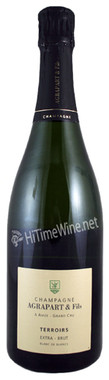 AGRAPART (14) EXTRA BRUT  TERROIRS Bottled May 2015: Disgorged (5g/l) September 2018.