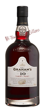 GRAHAM'S 10 YEAR TAWNY PORT 750ML